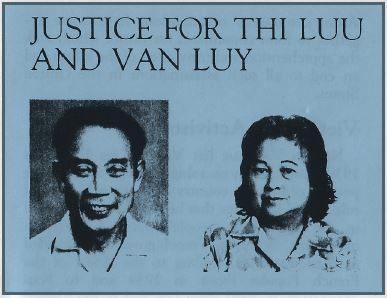 Justice for Thi Luu and Van Luy